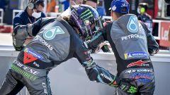 MotoGP San Marino 2020, Misano Adriatico: Franco Morbidelli e Fabio Quartararo (Yamaha)