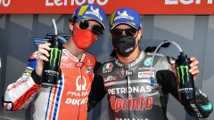 MotoGP San Marino 2020, Misano Adriatico: Franco Morbidelli e Francesco Bagnaia