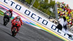MotoGP San Marino 2021, bis di Bagnaia! Trionfa a Misano con super Bastianini 3°!