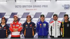 MotoGP Inghilterra 2017, parola ai piloti: la conferenza stampa del giovedì