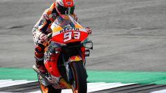 MotoGP Silverstone, Marquez in pole. Rossi 2° - Immagine: 1