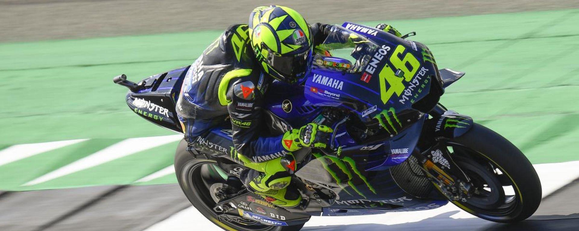 """MotoGP Silverstone, Rossi: """"Bello tornare in prima fila"""""""