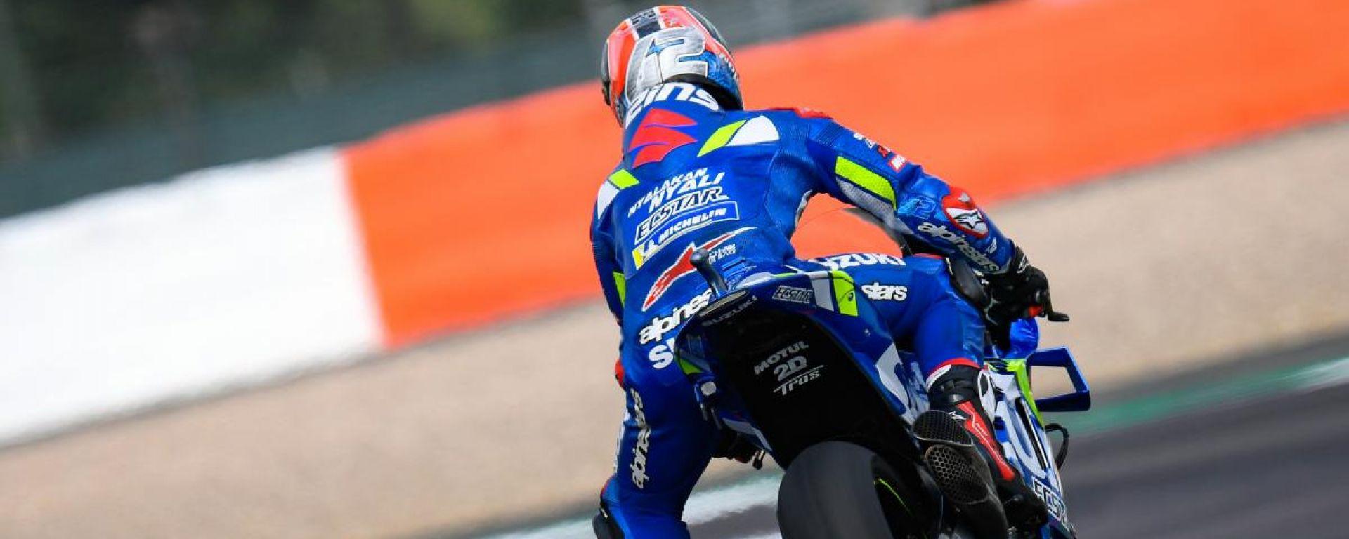 MotoGP Silverstone, vince Rins su Marquez. 4° Rossi