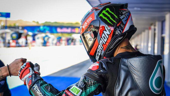 MotoGP Spagna 2020, Jerez - Fabio Quartararo (Yamaha)