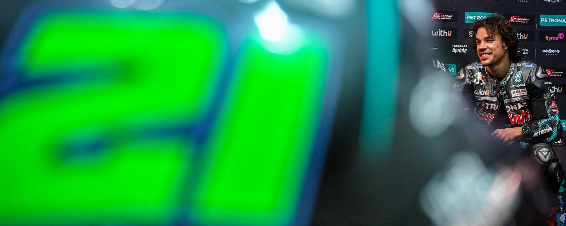 MotoGP Spagna 2020, Jerez: Franco Morbidelli (Yamaha)
