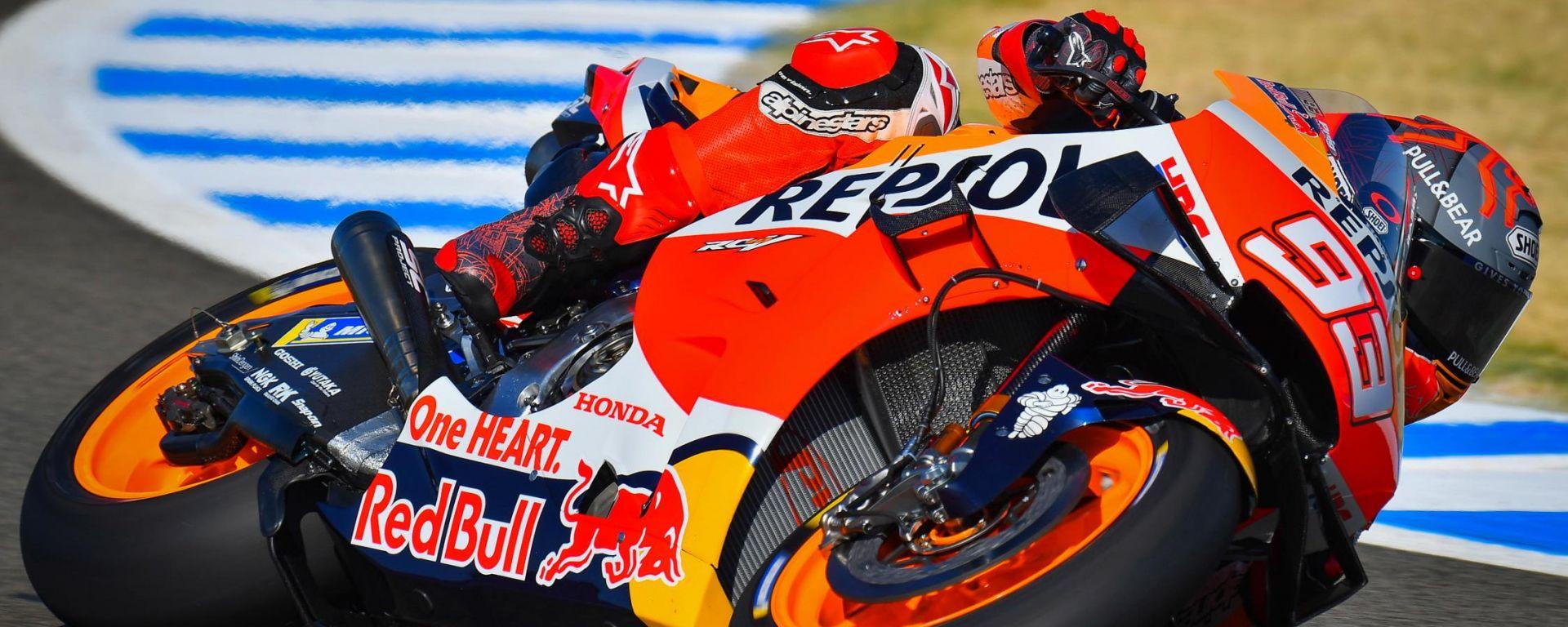 MotoGP Spagna 2020, Jerez: Marc Marquez (Honda)