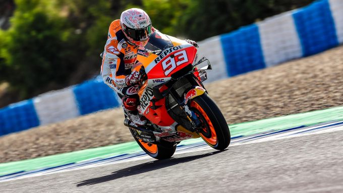 MotoGP Spagna 2020, Jerez - Marc Marquez (Honda)
