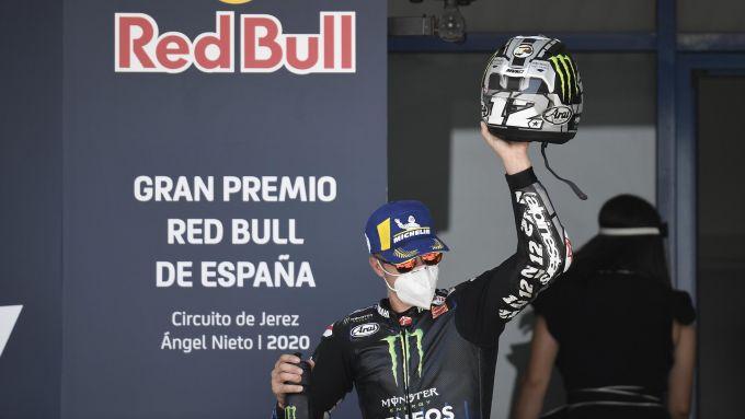 MotoGP Spagna 2020, Jerez - Maverick Vinales (Yamaha)