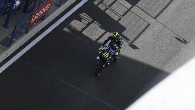 MotoGP Spagna 2020, Jerez - Valentino Rossi (Yamaha)