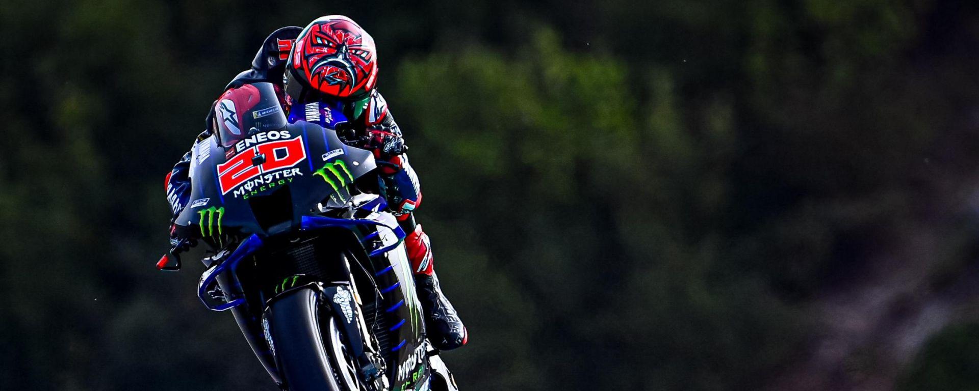 MotoGP Spagna 2021, Jerez - Fabio Quartararo (Yamaha)