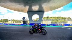 MotoGP Spagna 2021, Jerez: Fabio Quartararo (Yamaha)