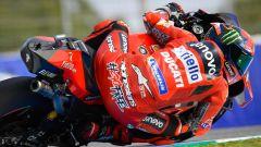 MotoGP Spagna 2021, FP2: Fulmine Bagnaia, bravo Morbidelli, male Rossi