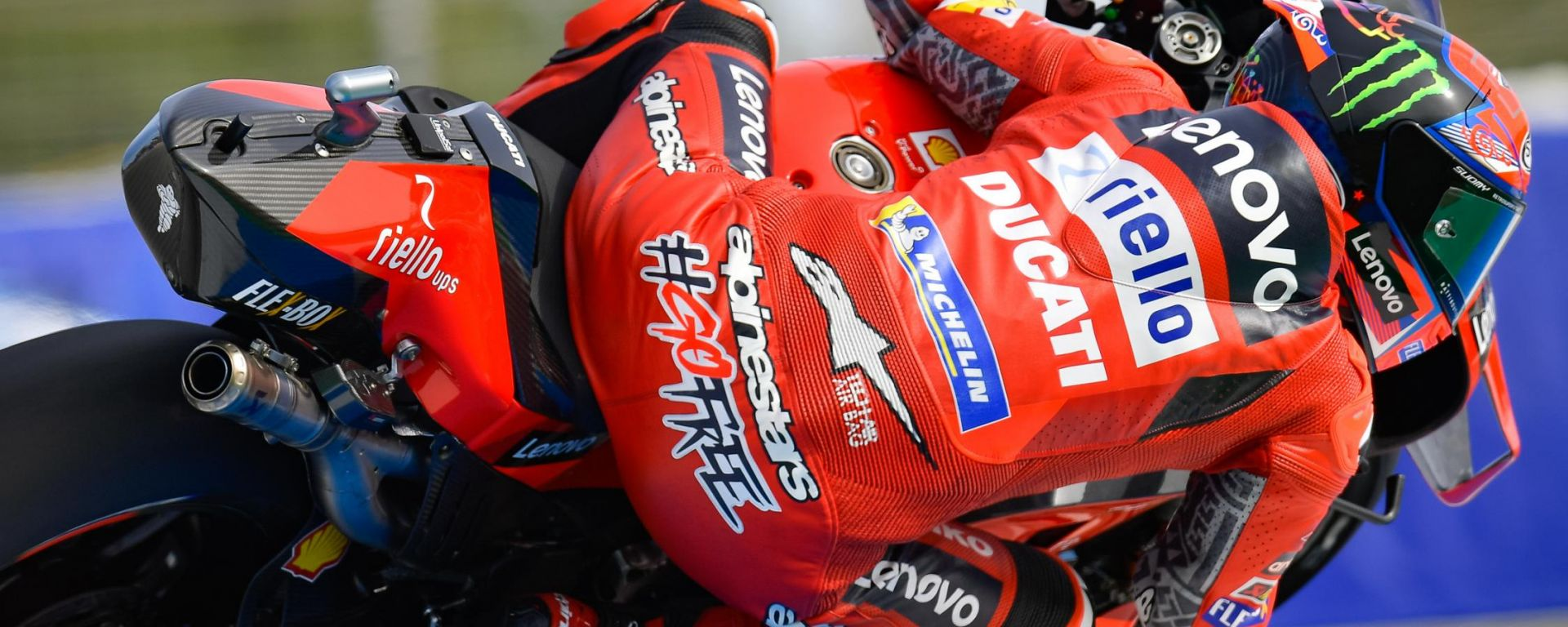 "MotoGP Spagna 2021, Jerez: Francesco ""Pecco"" Bagnaia (Ducati)"