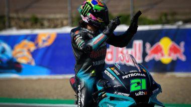 MotoGP Spagna 2021, Jerez: Franco Morbidelli (Yamaha)