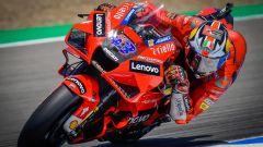 MotoGP Spagna 2021, doppietta Ducati Miller-Bagnaia, 3° Morbidelli