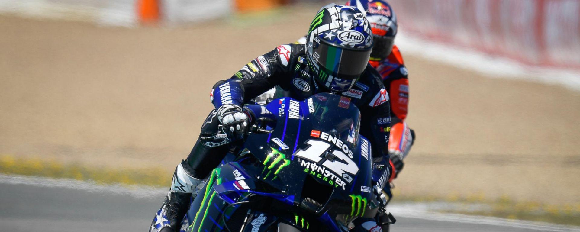 MotoGP Spagna 2021, Jerez: Maverick Vinales (Yamaha)