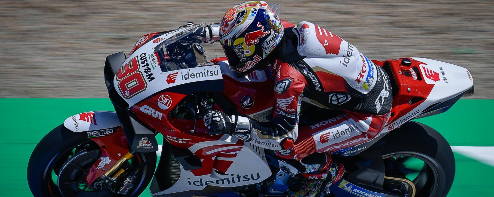 MotoGP Spagna 2021, Jerez: Takaaki Nakagami (Honda)