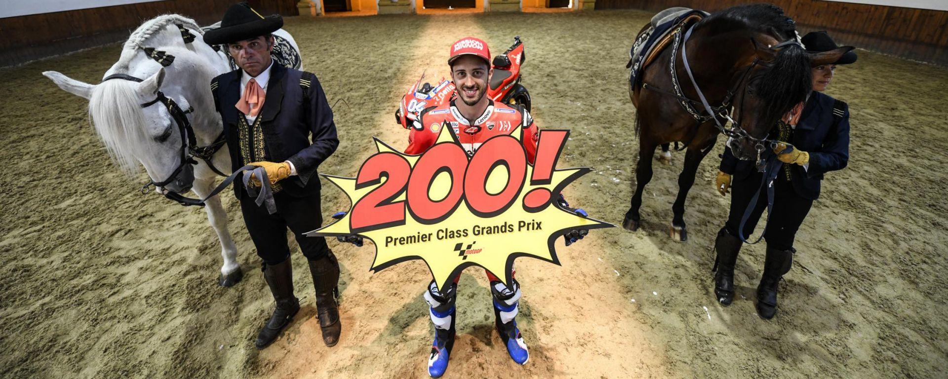 "MotoGP Spagna, Dovizioso al 200° GP: ""Mi sento fiducioso"""