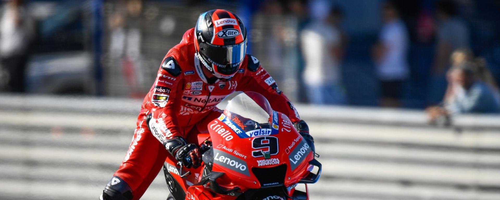 MotoGP Spagna. Ducati davanti nelle FP2 con Petrucci e Dovi