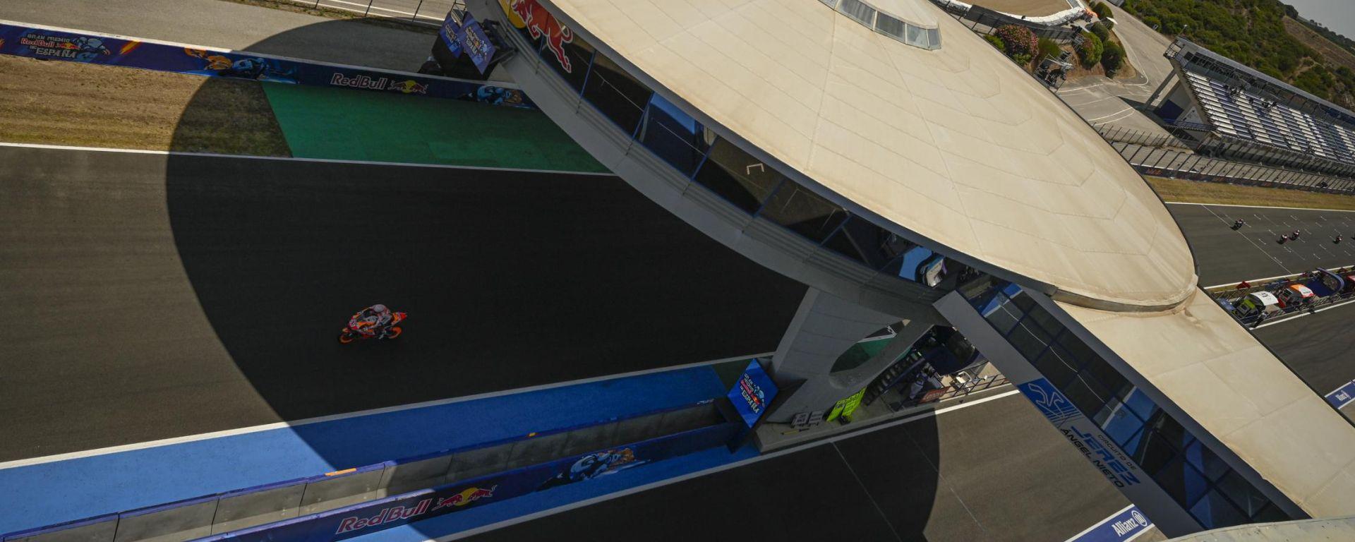 MotoGP Spagna, Jerez de la Frontera: prime fasi di gara