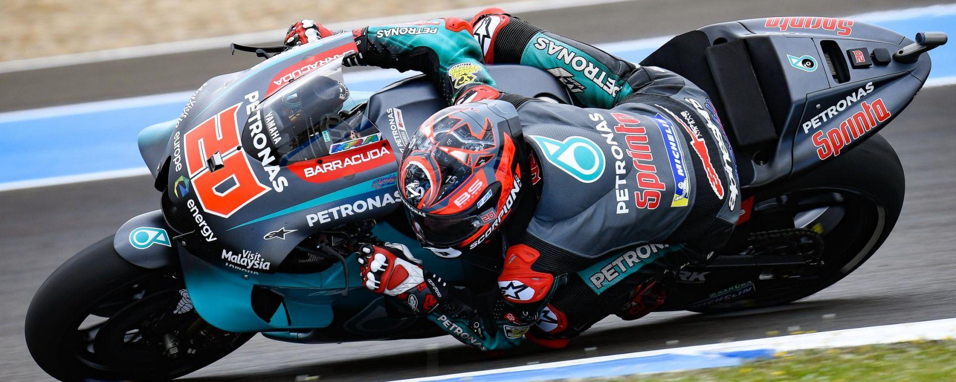 MotoGP Spagna: pole a sorpresa di Quartararo! Morbidelli 2°