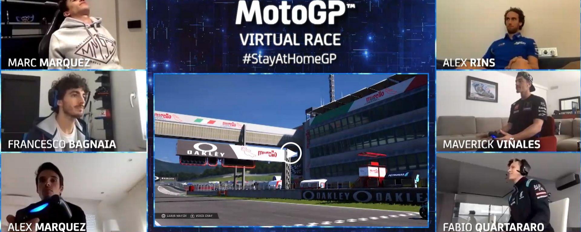 MotoGP StayAtHomeGP Mugello 2020