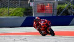 MotoGP Stiria 2021, FP3: Bagnaia al top, unico italiano in Q2