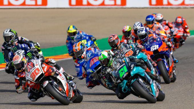 MotoGP Teruel 2020, partenza