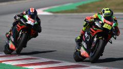 MotoGP, Test Barcellona 2019, Andrea Iannone e Bradley Smith (Aprilia)