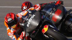 MotoGP Test Jerez 2018 - Marc Marquez (Honda) e Jorge Lorenzo (Honda)