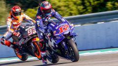 MotoGP Test Jerez 2018 - Marc Marquez (Honda) e Maverick Vinales (Yamaha)