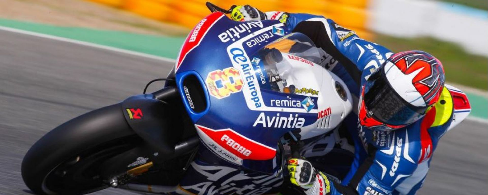 MOTOGP TEST JEREZ: le Ducati del team Avintia davanti a tutti