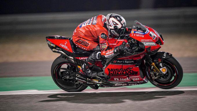 MotoGP, test Losail 2020: Danilo Petrucci (Ducati)