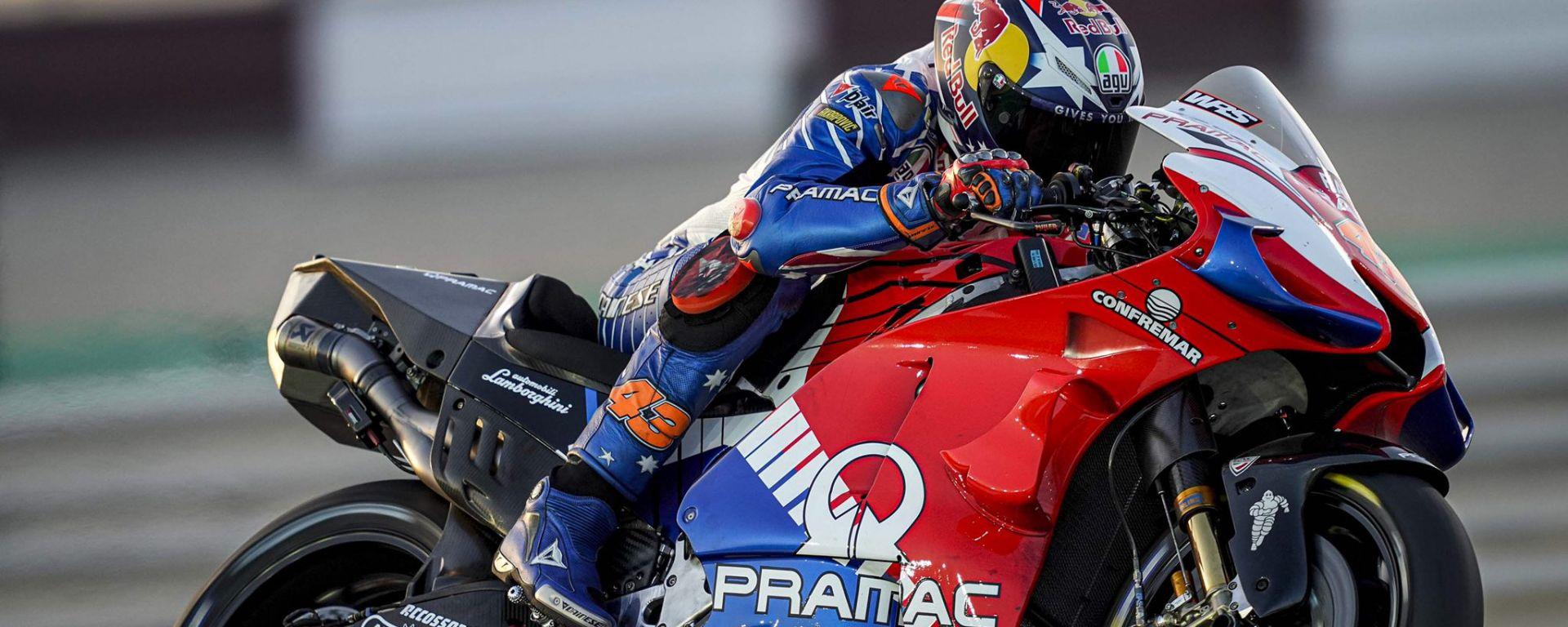 MotoGP, test Losail 2020: Jack Miller (Ducati Pramac)