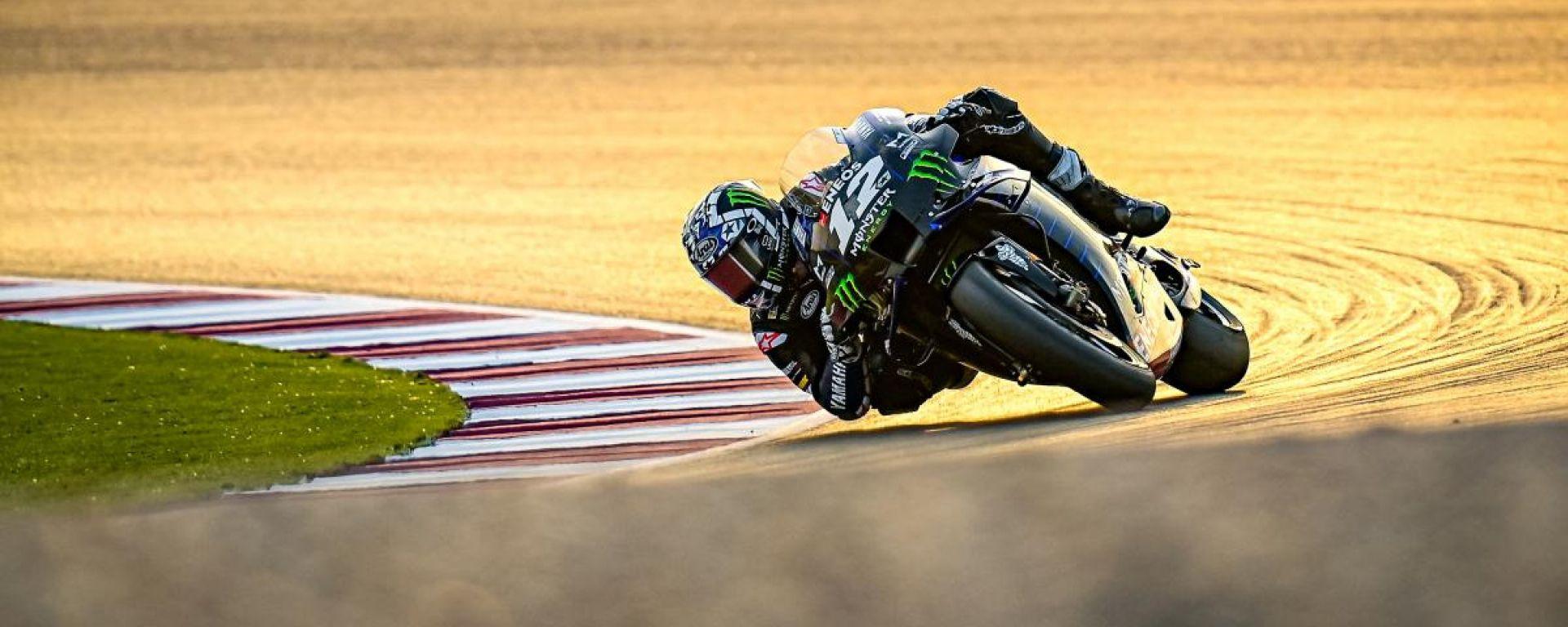 MotoGP Test Losail, day 4: tris Yamaha al vertice, Bagnaia quarto