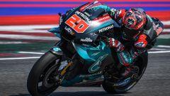 Test MotoGP Misano day-1, uno-due Quartararo-Morbidelli