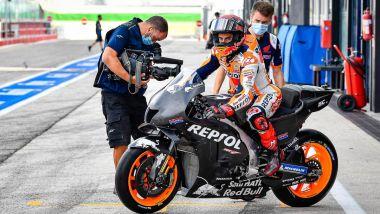 MotoGP Test Misano 2021: Marc Marquez (Honda)