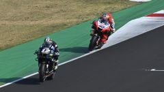 MotoGP Test Misano, Maverick Vinales (Yamaha) e Jack Miller (Ducati)