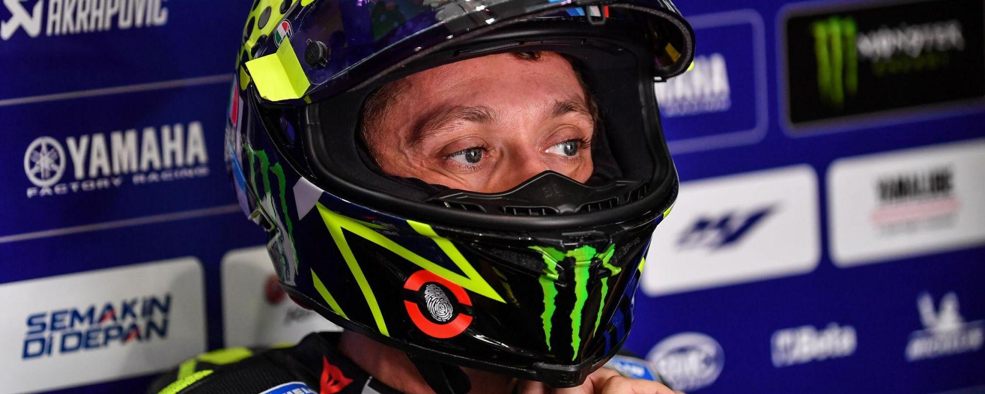 MotoGP Test Qatar 2020, Valentino Rossi (Yamaha)