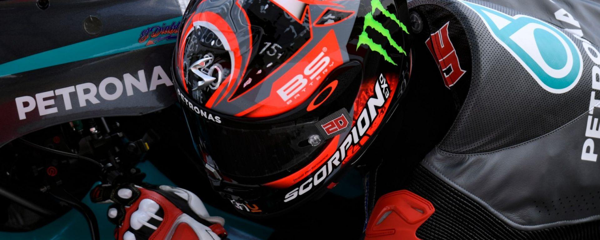 MotoGP, test Sepang 2020: Fabio Quartararo (Yamaha)