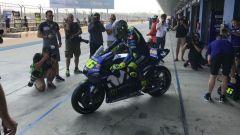 MotoGP Test Thailandia Day 1, Valentino Rossi