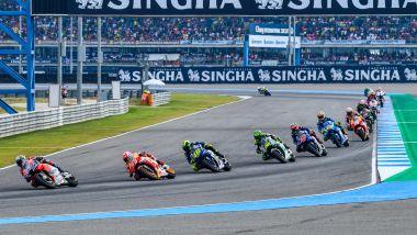MotoGP Thailandia 2018, Buriram, partenza