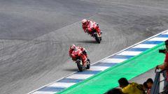 MotoGP Thailandia 2019, Buriram: Danilo Petrucci e Andrea Dovizioso (Ducati)