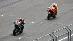 MotoGP Thailandia 2019, Buriram: Fabio Quartararo (Yamaha) e Marc Marquez (Honda)