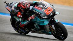 MotoGP Buriram, FP2: tris Yamaha, guida Quartararo