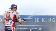 MotoGP Thailandia 2019, Buriram, Marc Marquez (Honda) campione del mondo