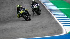 MotoGP Thailandia 2019, Buriram: Maverick Vinales e Valentino Rossi (Yamaha)