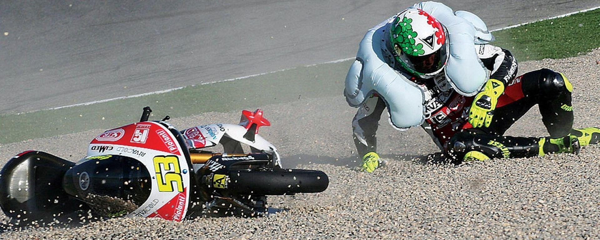 MotoGP tuta con airbag