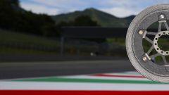 MotoGP, un disco freni della Brembo