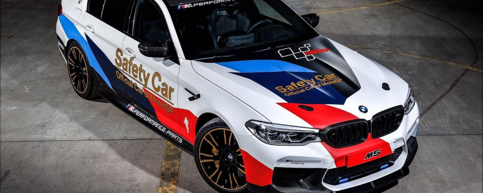 Nuova BMW M5: ecco la Safety Car del Motomondiale